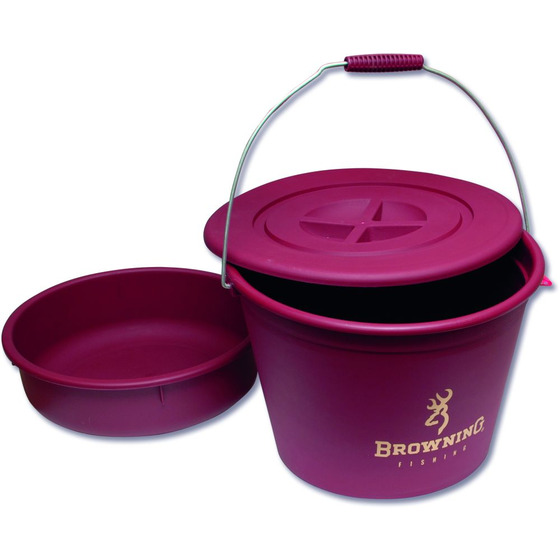 Browning Bucket With Lid And Bowl