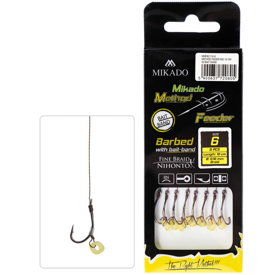 Mikado With Rubber Hook With Barb