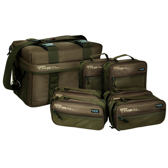 Shimano Tactical Full Compact Carryall Accessory Cases Supplied