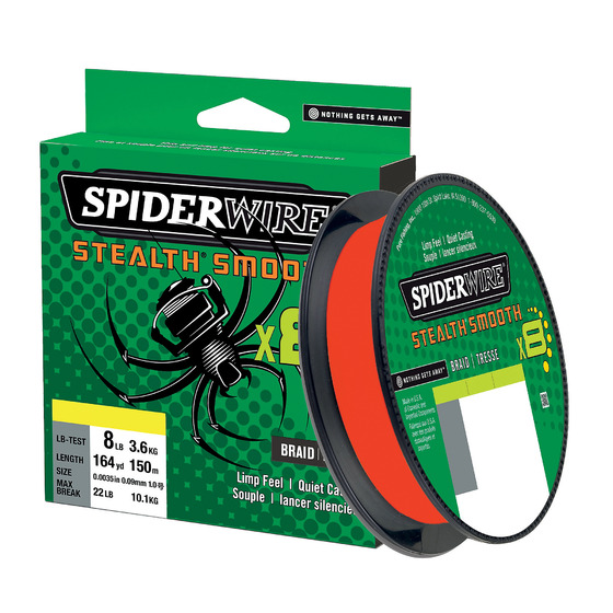 Spiderwire Stealth Smooth8 Code Red 150 M