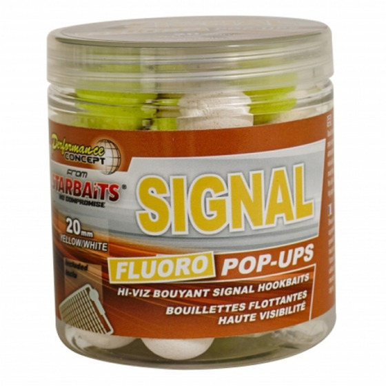 Starbaits Concept Fluo Pop Ups Signal