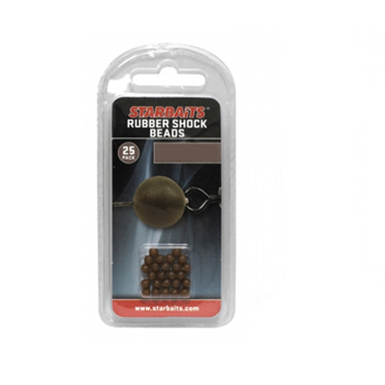 Starbaits Rubber Schock Beads 4mm