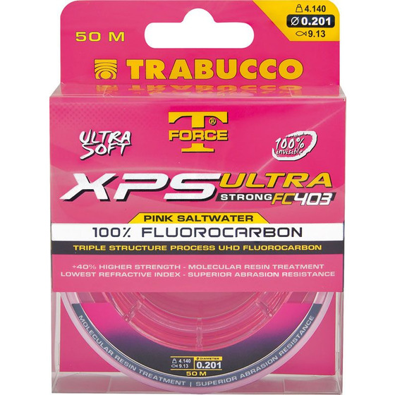 Trabucco XPS Ultra Strong Pink Saltwater
