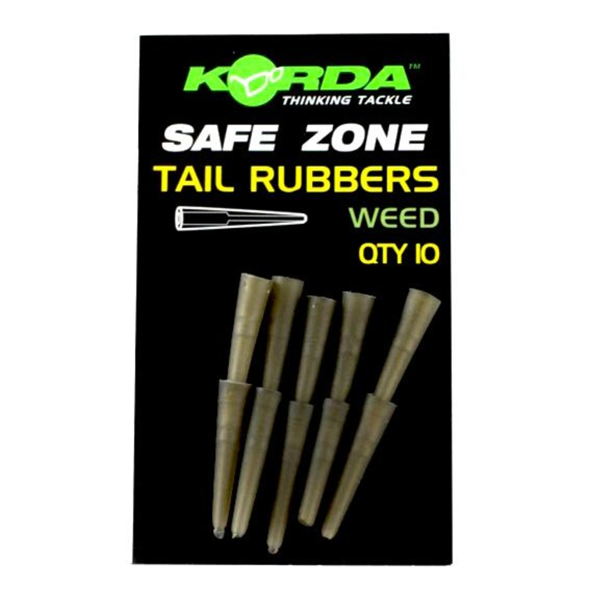 Korda Safe Zone Rubbers - Weed