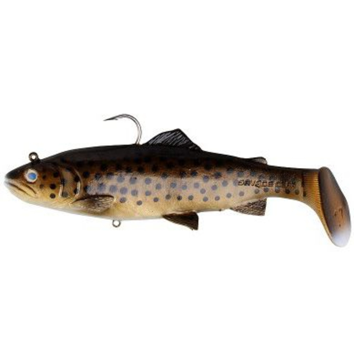 Savage Gear 3D Trout Rattle Shad - 12.5 cm - 35 g - Dark Brown Trout