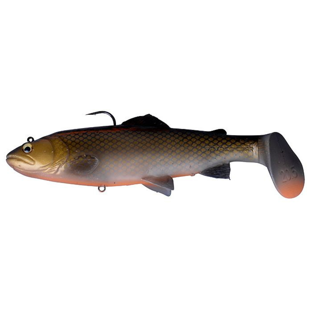 Savage Gear 3D Trout Rattle Shad - 20.5 cm - 120 g - Dirty Roach