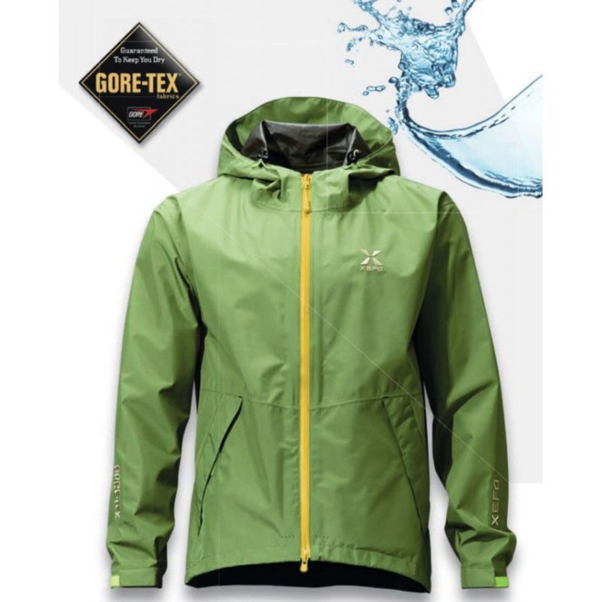 Shimano Giacca Xefo Gore-Tex Basic - L - Forest Green
